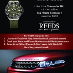 Tag Heuer Watch Giveaway
